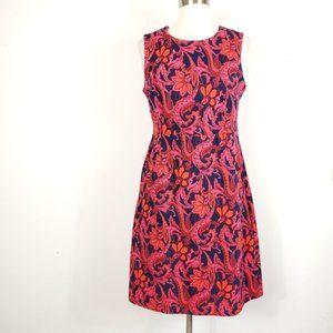 Lands' End A Line paisley Floral athleisure dress